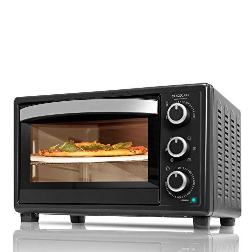 Cecotec Bake&Toast 570 4Pizza Horno Convección de Sobremesa, 6 Modos,