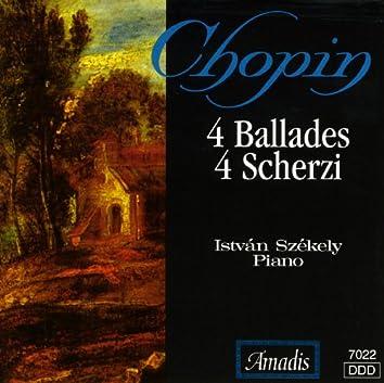 Chopin: 4 Ballades / 4 Scherzos