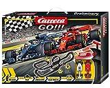 Carrera Toys GO!!! No Limits Set Pista da Corsa e Due Macchinine, Una Ferrari e Una Merced...