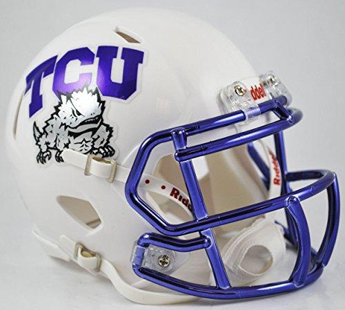 Riddell TEXAS CHRISTIAN HORNED FROGS NCAA Revolution SPEED Mini Football Helmet TCU