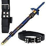 Universal Fit Sword Frog Belt Strap for Link's Master Zelda Sword Black