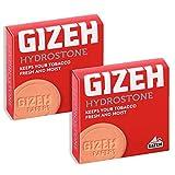 GIZEH(ギゼ) 喫煙具 HYDROSTONE 7.5×4.5×1cm ハイドロストーン 手巻きタバコ 加湿用 2個セット 7-22027-00