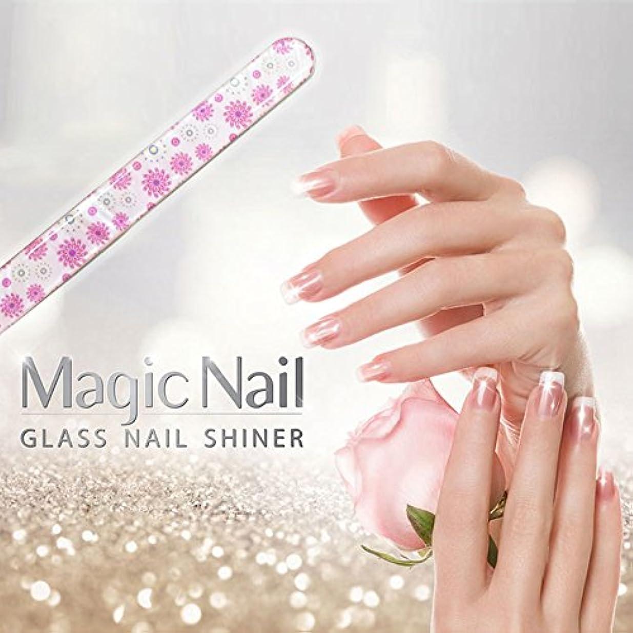 白い嫌がらせ揃えるエッサンテ(Essante) マジックネイル magic nail マニキュアを塗ったようなツヤ、輝きが家で誰でも簡単に出来る glass nail shiner ガラスネイルシャイナー おしゃれなデザイン つめやすり ツメヤスリ バッファー