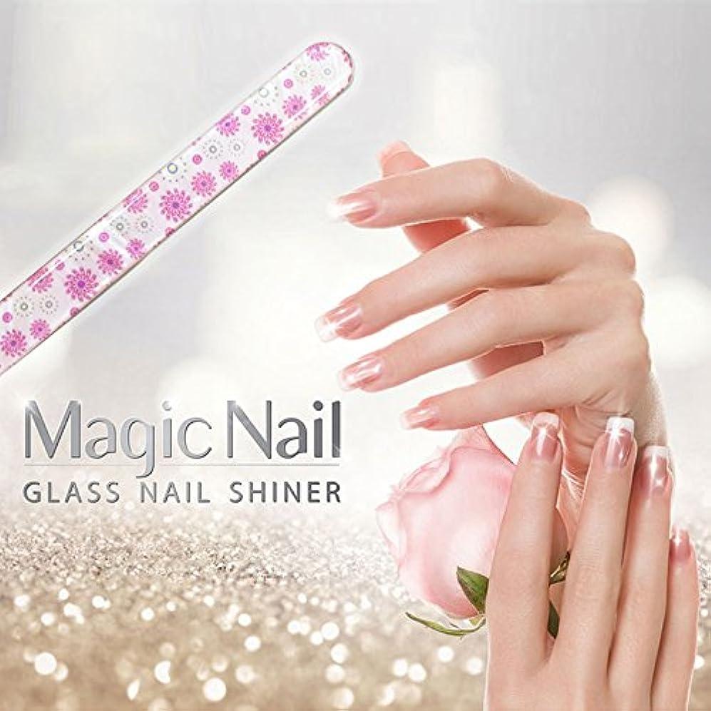 機械的できれば力エッサンテ(Essante) マジックネイル magic nail マニキュアを塗ったようなツヤ、輝きが家で誰でも簡単に出来る glass nail shiner ガラスネイルシャイナー おしゃれなデザイン つめやすり ツメヤスリ バッファー