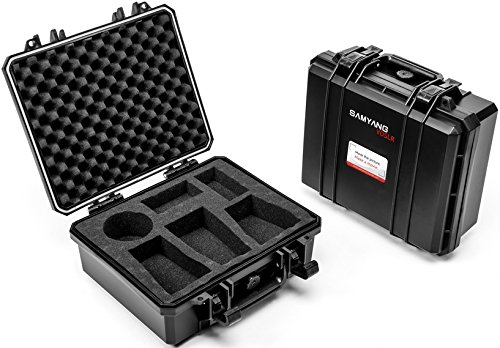 Samyang SAMCASES - Maleta para Objetivos para cámaras, tamaño S