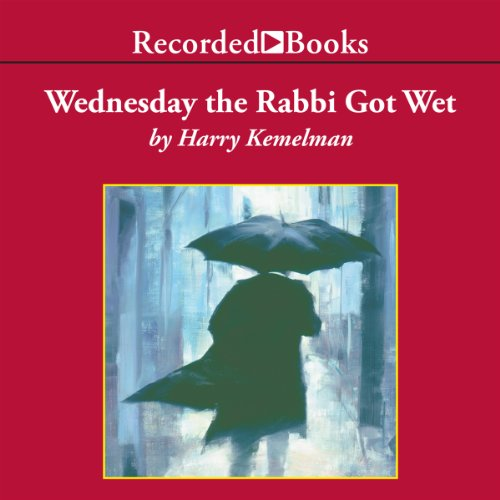 Wednesday the Rabbi Got Wet audiobook cover art