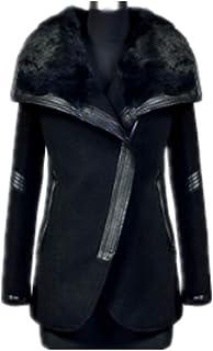 Black Cashmere Balmacaan For Women