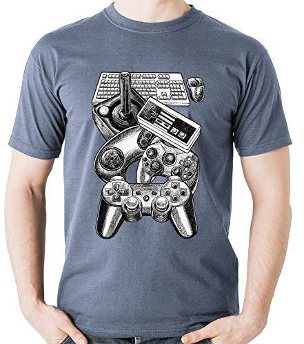 Camiseta Controles Video Game Gamer controle Camisa Blusa