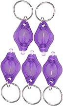 5 stuks mini led-sleutelbos zaklamp lamp sleutelhanger lichten pass ID valutadetector voor wandelen camping gastgeschenken...