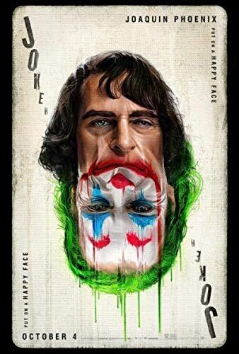 BOIPEEI Rompecabezas de Joker, Rompecabezas de 1000 Piezas, película de cómics Divertidos, Rompecabezas de Madera para Adultos, Juegos de Regalo para niños y Adultos