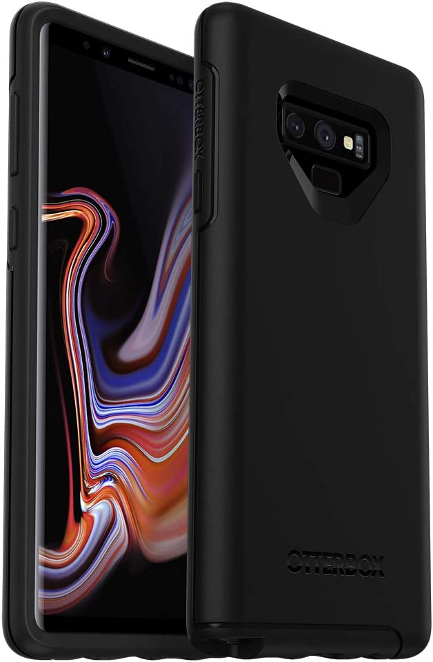 OtterBox SYMMETRY SERIES Case for Samsung Galaxy Note9 - Retail Packaging - BLACK