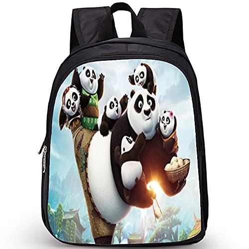 Maksim-003 Linda Dibujos Animados Mini Panda Cómodo Anime con Estilo Multi-Bolsillos Moda para Deportes Viajes Chica Daypack Regalo Mochila (Color : 2, Size : 35x27x14cm)