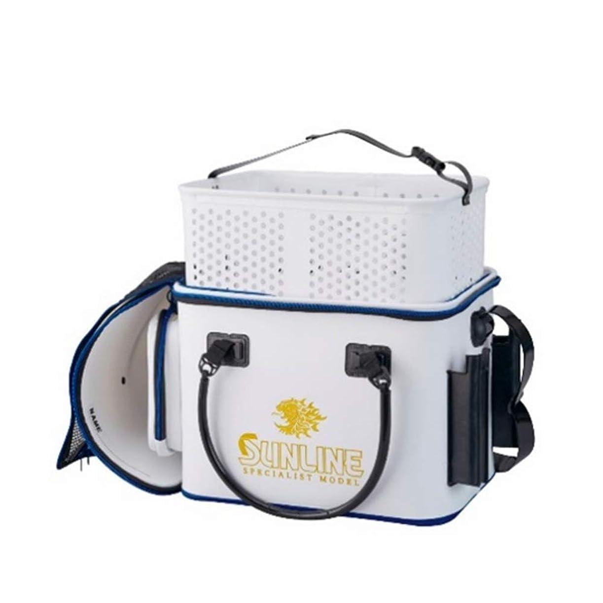 何故なの十代電気サンライン(SUNLINE) フィッシュキープバッグ SFB-0805 ホワイト