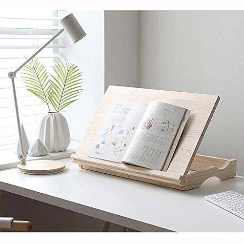 [KEM] höhenverstellbar Holz Lesen Buch Ständer 13Stufen Winkel Kontrolle