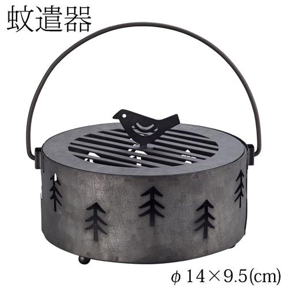 漏れ枯れる出会いDECOLE 蚊遣り箱 森 (ZBZ-37414) スチール製蚊遣器 Kayari of Steel