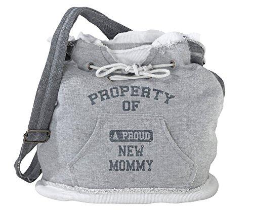 "Lillian Rose Diaper Bag, Property of Mommy, 15"" x 15"" x 6.75"""