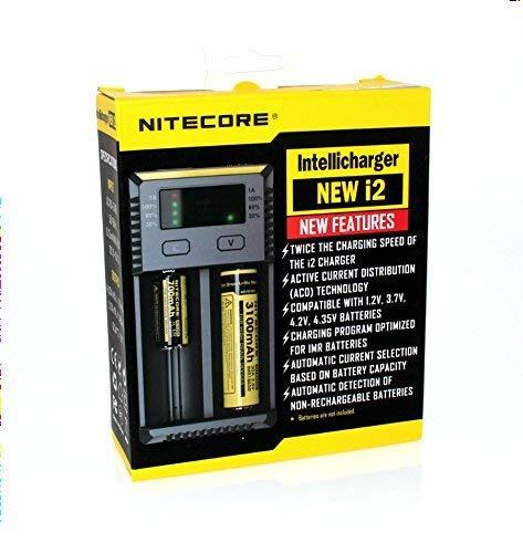Nitecore Intellicharger NEW i2 2-Schacht Ladegerät
