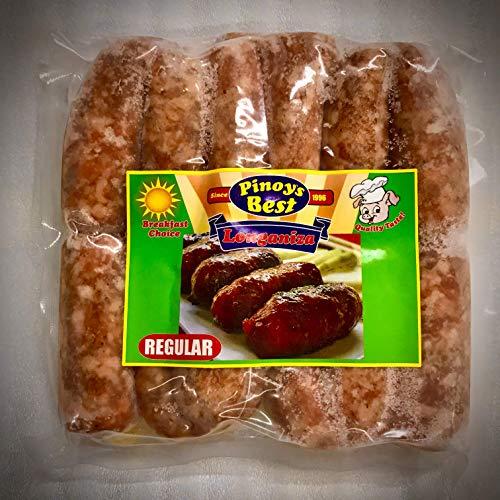 冷凍品 要加熱 ピノイズベスト ロングニーサ レギュラー 500g Pinoys Best Longaniza