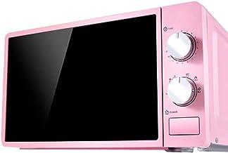 20L Pequeño multifuncional de microonda 220V mecánico giratorio de la Alimentación del calentador de cocina Olla para cocinar al vapor/Calefacción/ebullición,Rosado
