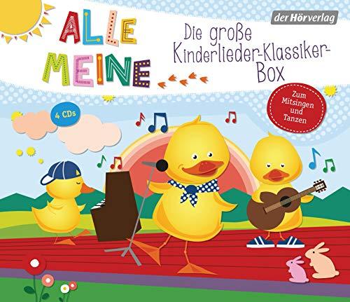 Alle meine Kinderlieder-Klassiker-Box (Alle meine ...-Reihe, Band 11)