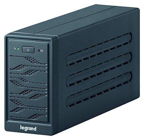 BTicino 310002 UPS Monofase Line Interactive Niky 600VA, 3 Prese IEC e Porta di Comunicazione USB