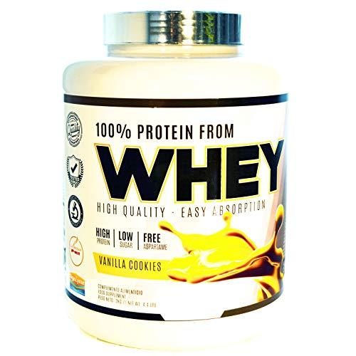 Whey Concentrado de Suero Aislado de Proteína; Suplemento Deportivo; | Sabor Vainilla 2 kg