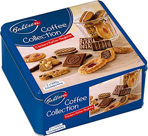 Bahlsen Gebäckmischung Coffee Collection, Dose, 2 x 500 g (1 kg)
