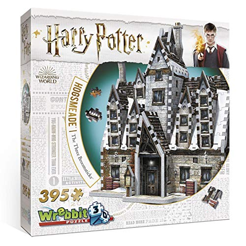 JH-Products- Harry Potter Puzzle 3-D, 0665541010125