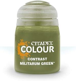 Games Workshop Citadel Colour: Contrast - Militarum Green