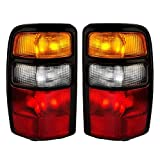 Epic Lighting OE Fitment Replacement Rear Brake Tail Lights Assemblies Compatible with 2004-2006 Suburban Tahoe Yukon Yukon Denali Left Driver & Right Passenger Sides Pair