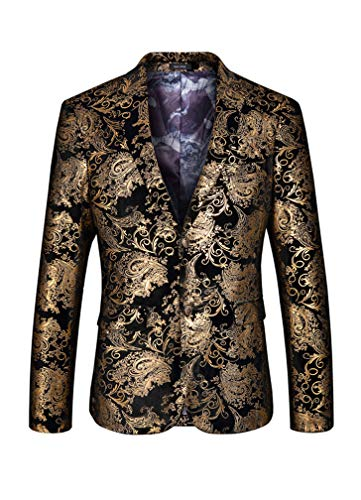 Sports Coat Gold Buttons