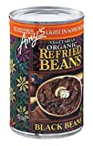 Amy's Light in Sodium Organic Refried Black Beans, 15.4-Ounce Cans (Pack of 12) ( Value Bulk...