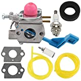 Yermax C1U-W13A 530071633 Carburetor Repower Kit for Poulan Weed Eater GHT220 GHT220LE GHT180 GHT180LE GHT195LE GHT225LE 25HHT Hedge Trimmer
