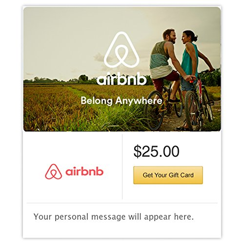 Airbnb Bikes Gift Cards - E-mail Delivery