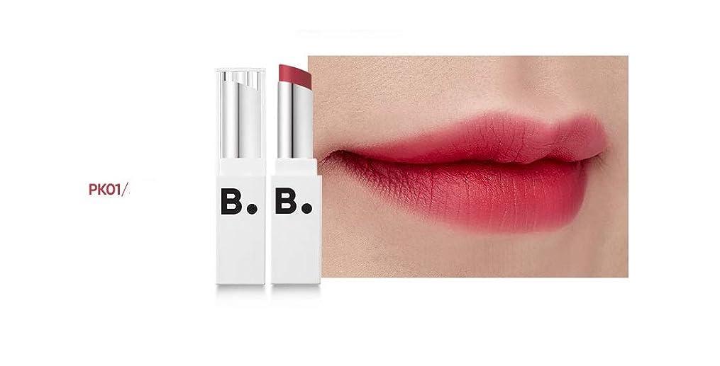 サスペンドセンチメンタルコックbanilaco リップドローマットブラストリップスティック/Lip Draw Matte Blast Lipstick 4.2g #MPK01 kichi pink [並行輸入品]