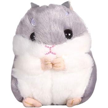Hot Stuff Plush Keychain with Purple Key Stuffed Animal Toy Key Chain