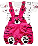 SAS Baby Girl Baby Boys Dungaree Set for Kids, a Fashioned Product,Print of