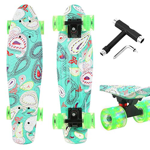Xapwell 22 Inch Mini Cruiser Skateboard