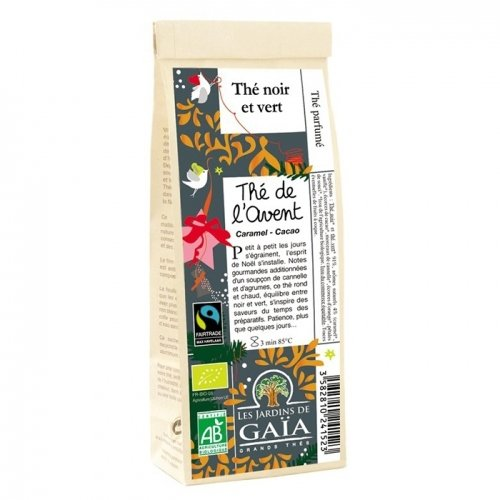 Les Jardins De Gaïa - Thé Noir de l Avent - 100g