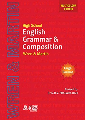 Wren & Martin High School English Grammar And Composition Book (Multicolour Edition)