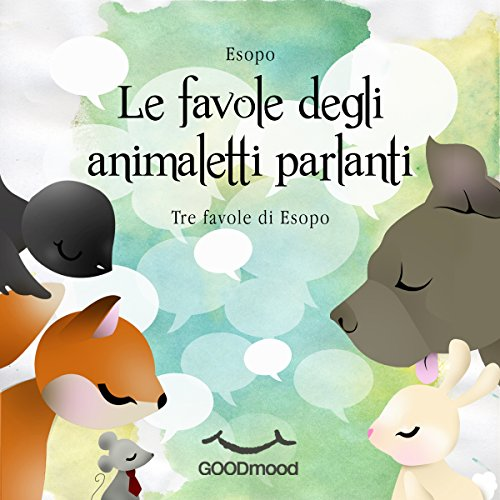 Le favole degli animaletti parlanti audiobook cover art