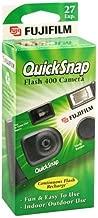 Fujifilm QuickSnap Flash 400 Disposable 35mm Camera 27 exposures (Pack of 4)