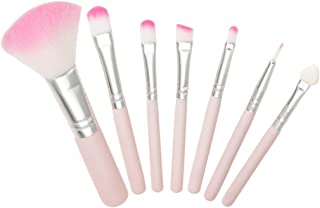 7Pcs Makeup Brush Pink