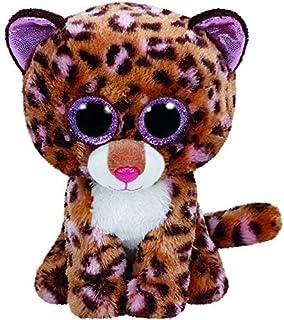 Green Riverside Ty Beanie Boos Leopard Tiger Leona Tasha Dotty Glamour Tess Asia Parches Sydney Plush S Big Eyed Stuffed Animal 15cm 6'' 15cm 6'' café coloración del Cabello, Parches