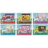 Coltum Lot de 6 cartes NFC pour animal Crossing New Horizons Sanrio pour Switch/Switch Lite/New 3DS
