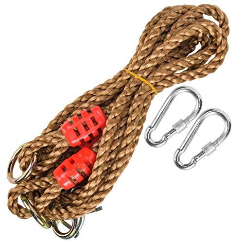 SALUTUYA Resistente al Aire Libre de Alta especificación Craft Cord Cuerda Columpio Accesorio Columpio Extensión de Hamaca, para Juegos de niños
