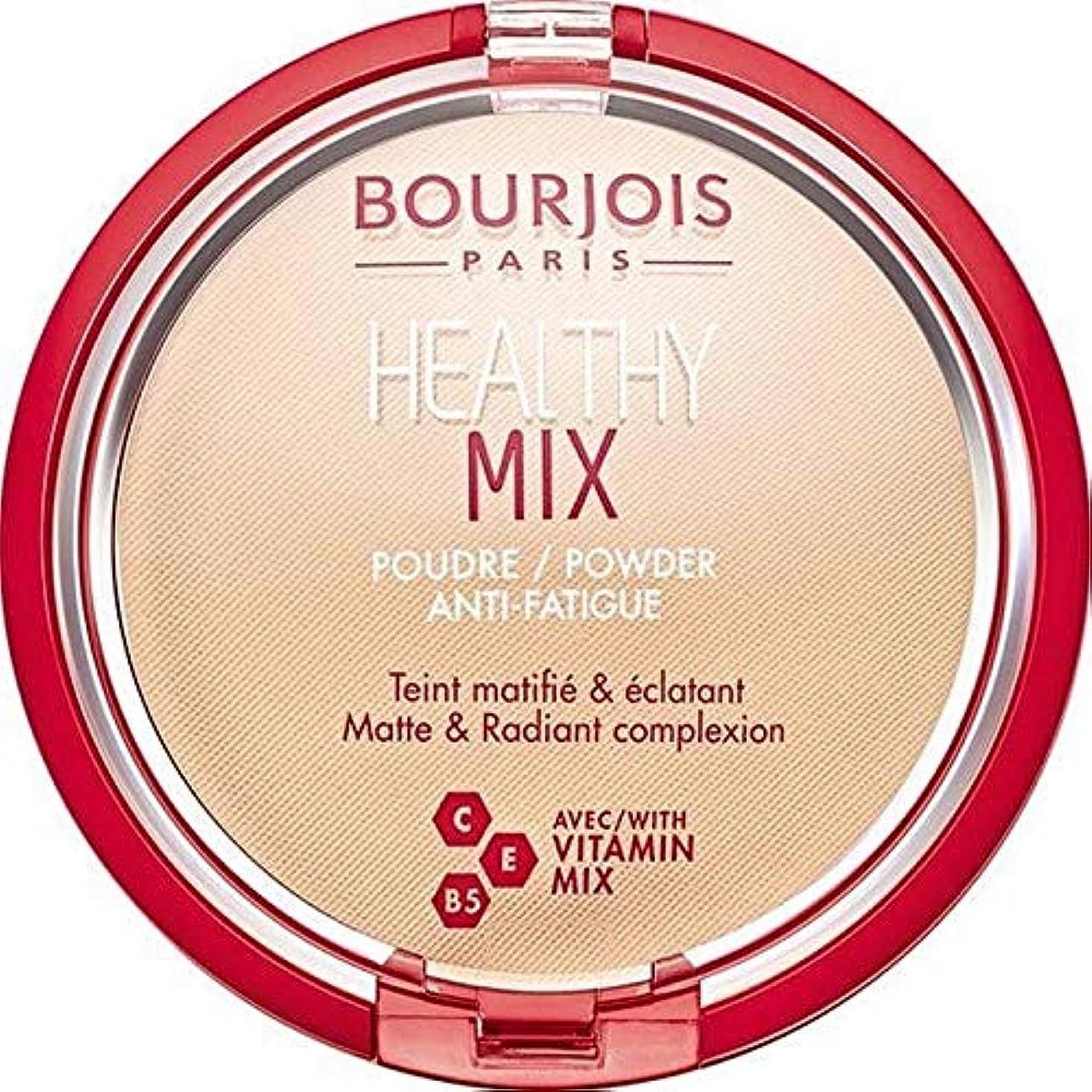 祈る投票偽造[Bourjois ] ブルジョワヘルシーミックス粉1を押します - Bourjois Healthy Mix Pressed Powder 1 [並行輸入品]
