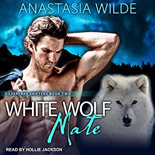 White Wolf Mate     Silverlake Shifters, Book 2              By:                                                                                                                                 Anastasia Wilde                               Narrated by:                                                                                                                                 Hollie Jackson                      Length: 3 hrs and 45 mins     Not rated yet     Overall 0.0