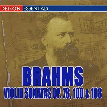 Brahms: Violin Sonatas Nos. 1, 2, 3