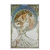 cutby Alphonse Mucha 《Poesie》 Leinwand Kunst Malerei